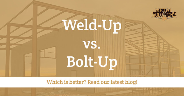 Read more about the article Weld-Up or Bolt-Up?